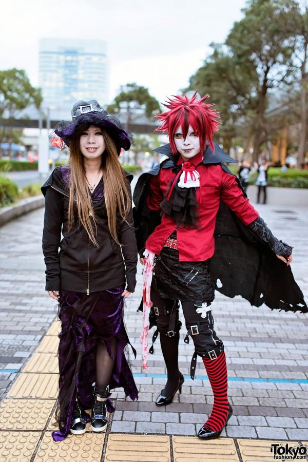 VAMPS Halloween Party Costumes in Tokyo (69)