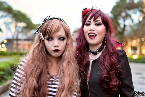 VAMPS Halloween Party Costumes in Tokyo (83)