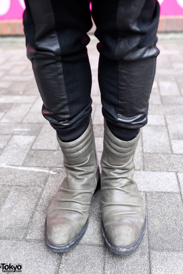 Kiroic boots in Tokyo
