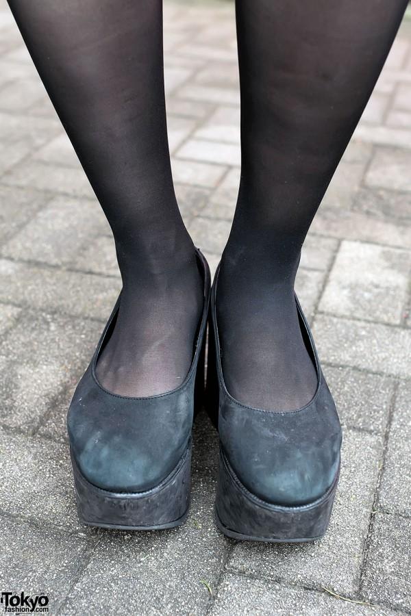 Tokyo Bopper Platforms & Black Stockings