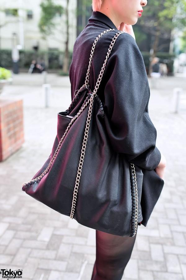 Chain Purse & Tellsit Jacket