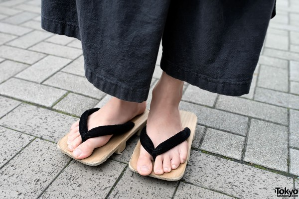 Geta Sandals at Bunka Fashion College