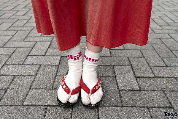 Japanese Sandals with Socks