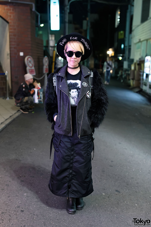 Japanese Artist Choco Moo in Harajuku