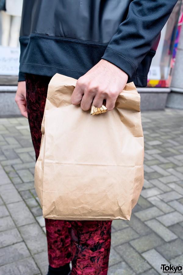 Paper Bag Clutch