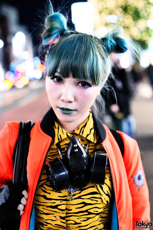 Tokyostyle Hair Weave Freak City Dog Harajuku Moschino