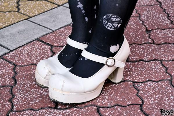 Platform Heels in Koenji