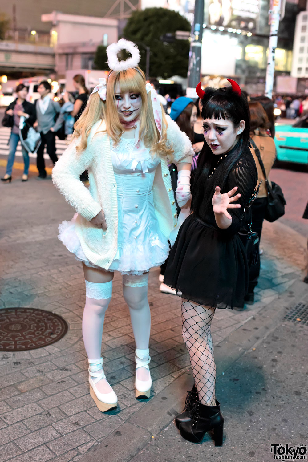Cute Halloween Makeup Ideas: Pictures & Video From Tokyo