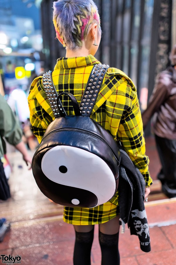 Glad News Yin-Yang Backpack in Shibuya