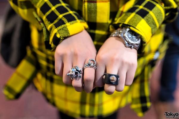 Punk Spike Ring
