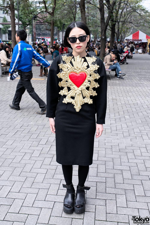 KTZ Heart Dress in Tokyo