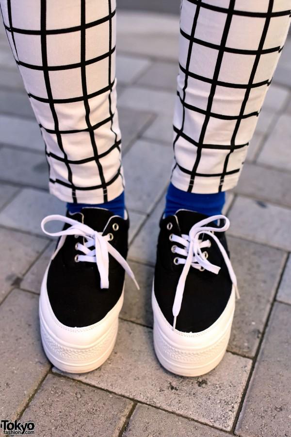 Harajuku Platform Sneakers