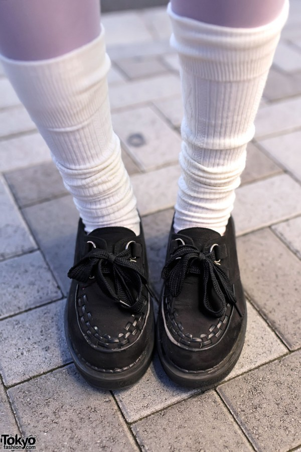 Loose Socks and Creepers
