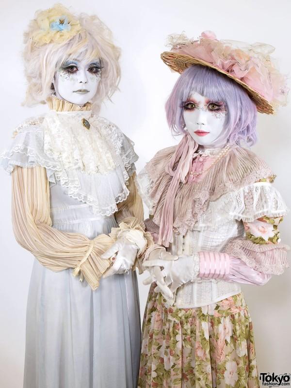 Minori's Shironuri Makeover