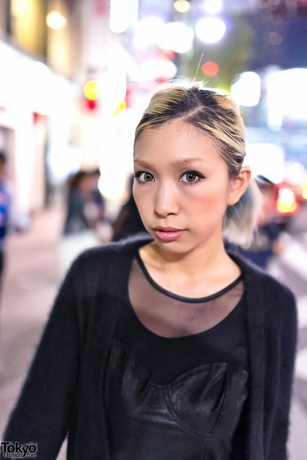 Japanese Fashion Blogger in Shibuya