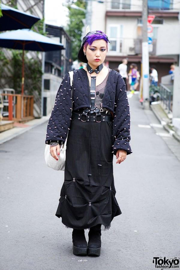 Bitching and Junkfood Jacket & OTOE Skirt