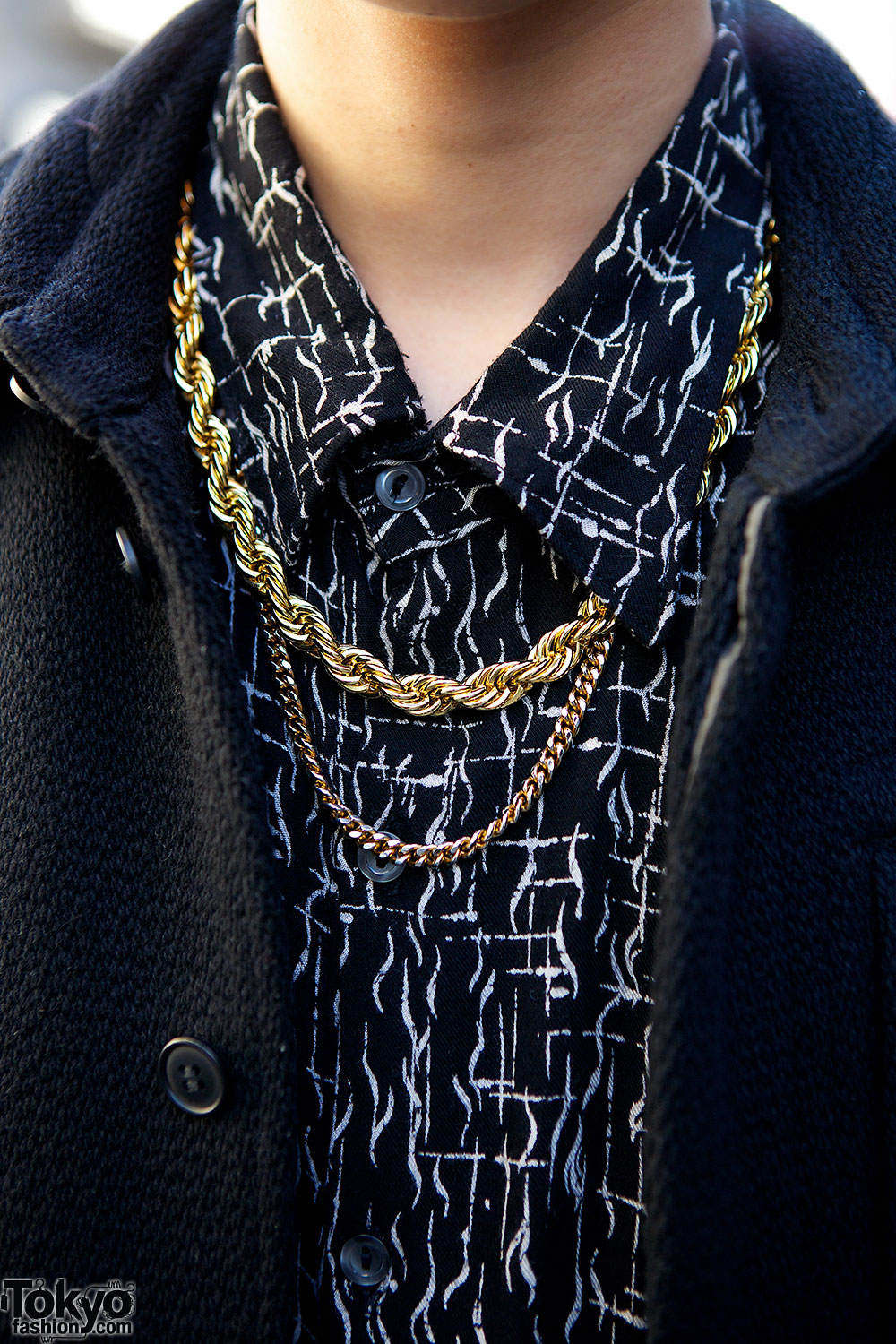 Gold Chain Necklaces – Tokyo Fashion News