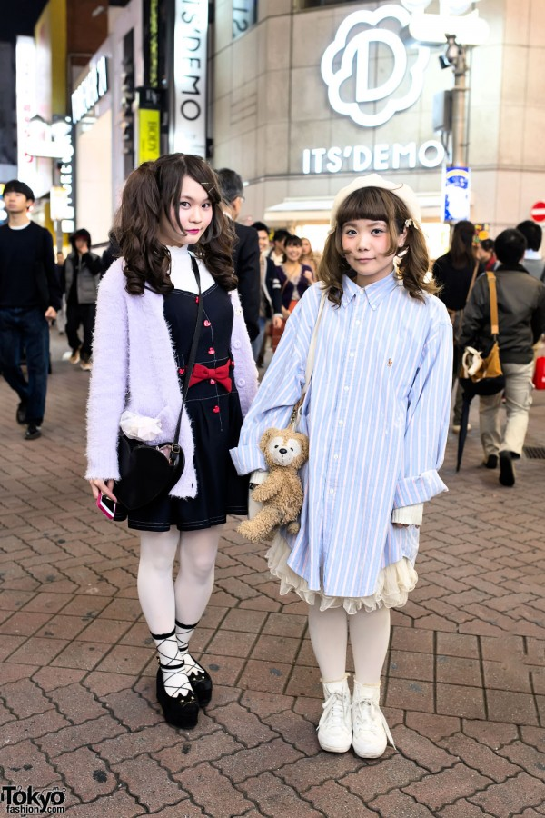Harajuku Girls in Shibuya