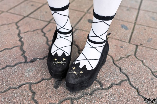 Cute Platform Cat Shoes