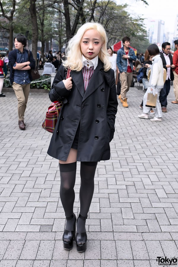 Cute Tokyo Street Style w/ Vivienne Westwood