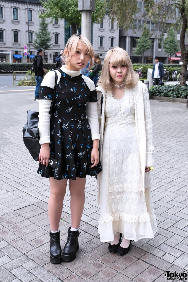 Sretsis Unicorn Skeletons Dress vs Grimoire Vintage & Angel Nail Art
