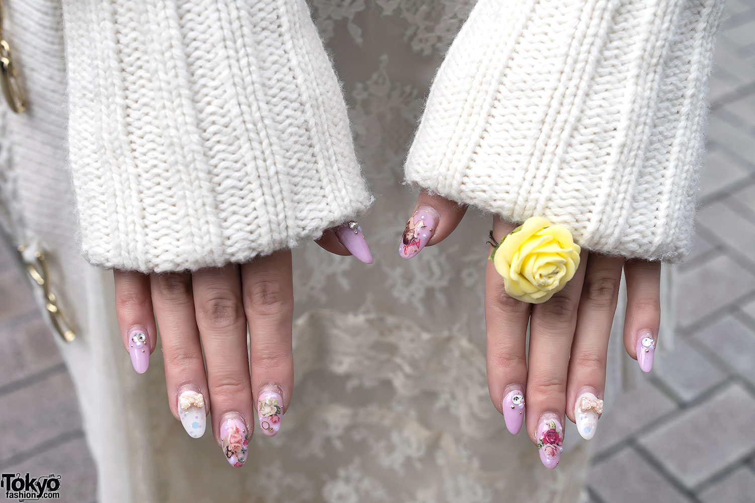 Rose ring japanese angel nail art tokyo fashion news rose ring japanese angel nail art prinsesfo Image collections