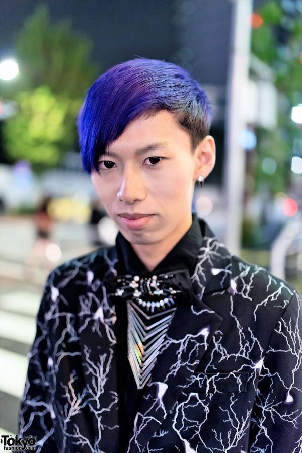 Yaponskii & Blue Hair