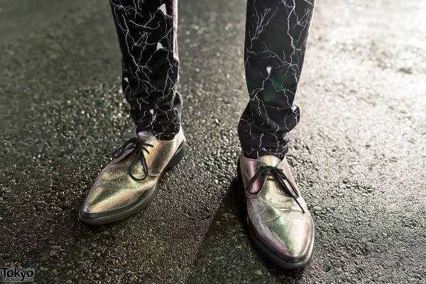 Yaponskii Suit & Silver Shoes