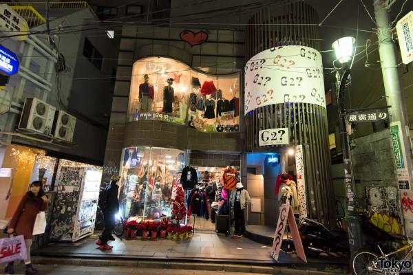 Harajuku Christmas - Cat Street Ura-Hara (10)