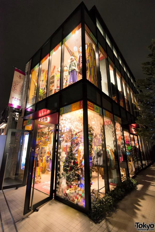Harajuku Christmas - Cat Street Ura-Hara (46)