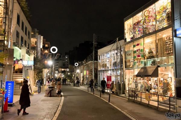 Harajuku Christmas - Cat Street Ura-Hara (75)