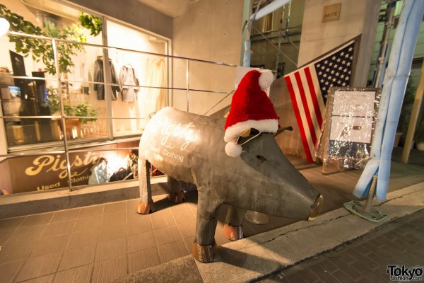 Harajuku Christmas - Cat Street Ura-Hara (107)