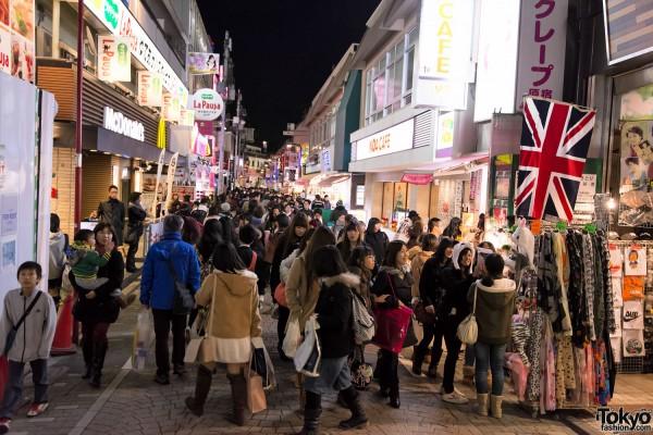Harajuku Christmas Takeshita Dori (4)