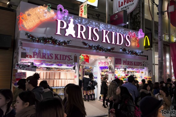 Harajuku Christmas Takeshita Dori (5)