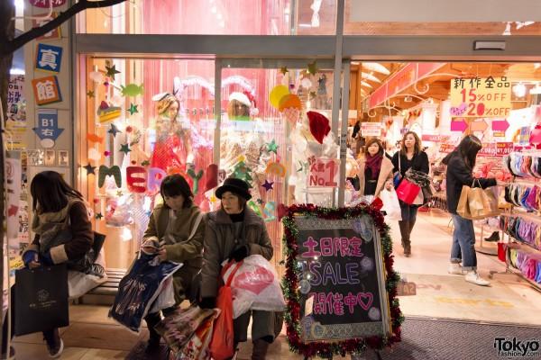 Harajuku Christmas Takeshita Dori (18)