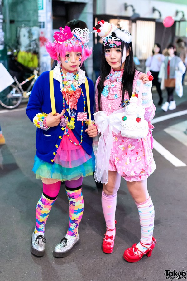 Kawaii Harajuku Decora Girls