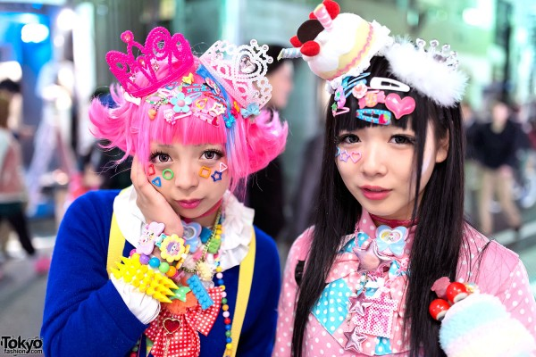 Decora Hair Clips, Tiara & Cake Hat