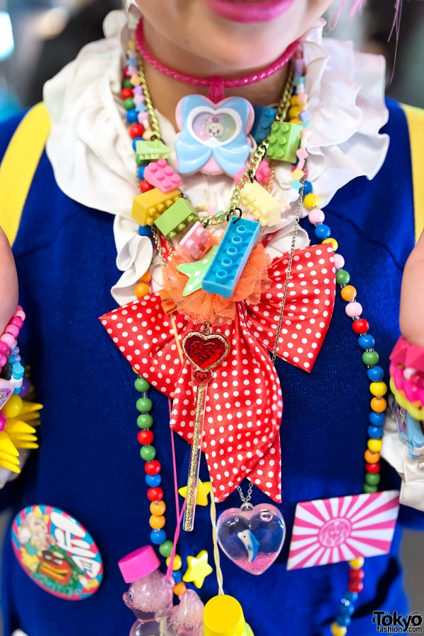 Kawaii Decora Necklaces & Bows