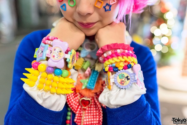 Decora Bracelets & Candy Spikes