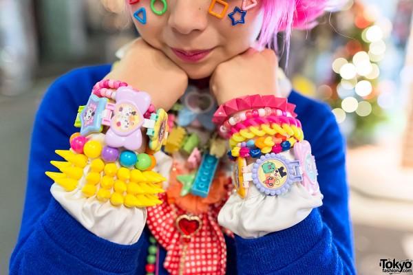 Decora Bracelets & Candy Spikes