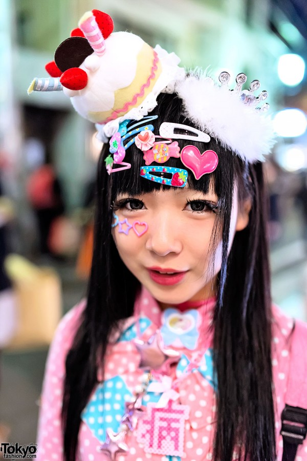 Cute Japanese Decora Hair Clips