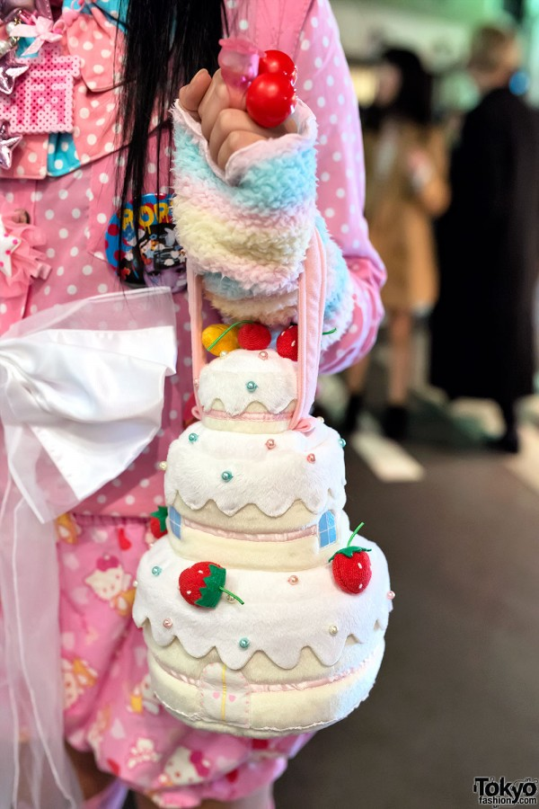 Cute Cake Purse in Harajuku