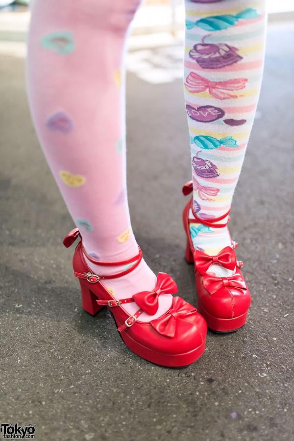 Cupcake Socks & Lolita Shoes