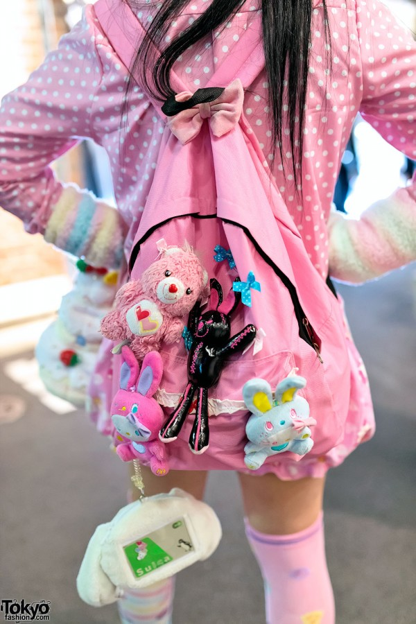Backpack & Kawaii Plush Toys