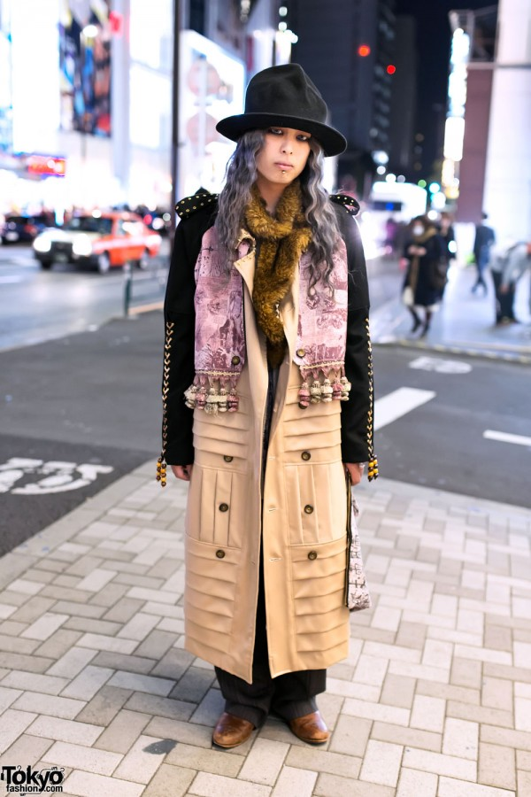 HEIHEI Tassel Coat in Harajuku