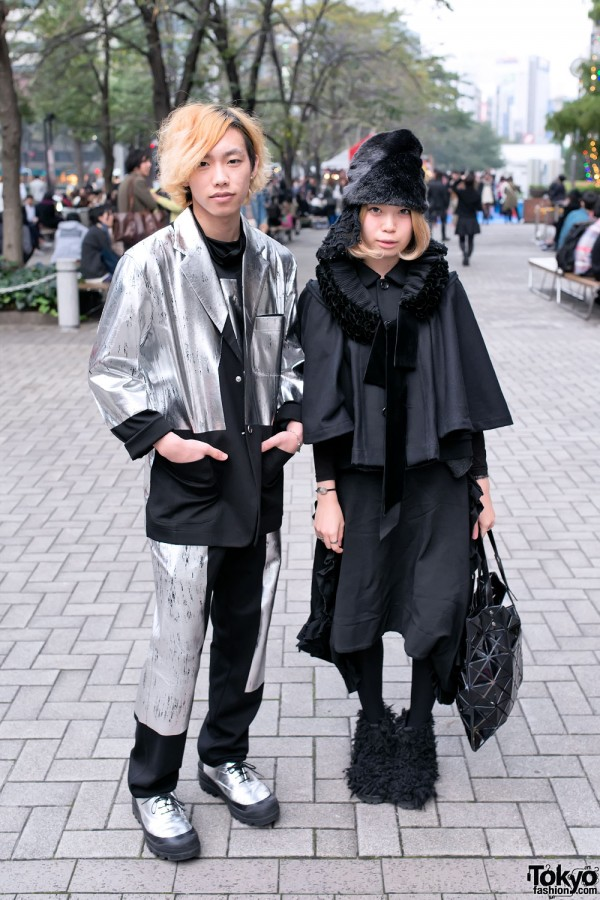 Issey Miyake Suit & Comme des Garcons