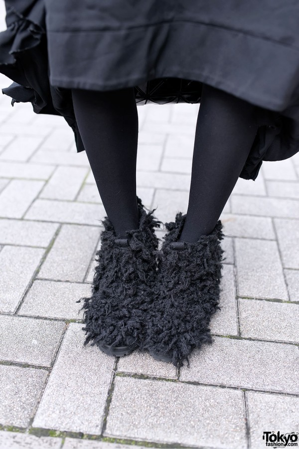 iTokyoMe Furry Boots