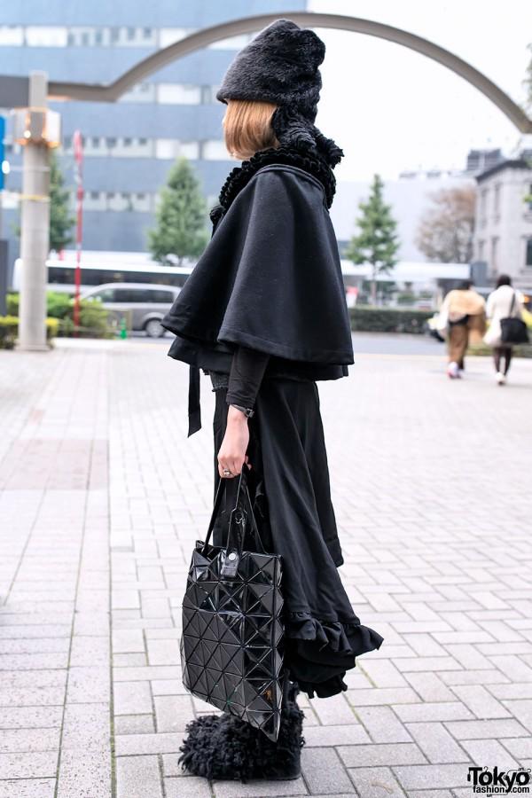 All Black Comme des Garcons Fashion