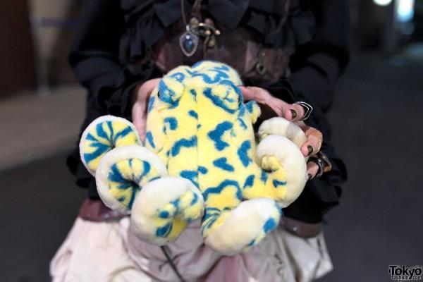 Plush Octopus x Steampunk Style