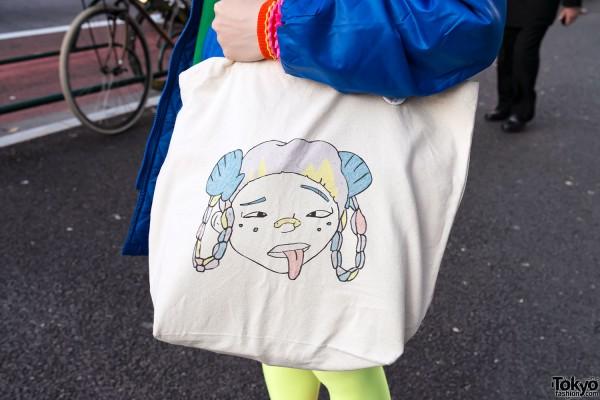 Lactose Intoler-art Tote Bag